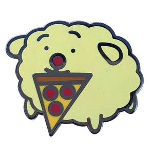 Bun-Bun Pizza Enamel Pin