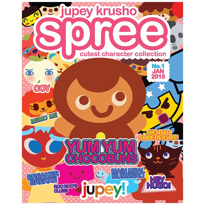 Jupey Krusho Spree: Volume 1