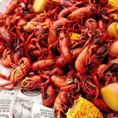 CRAWFISH BOIL - Talk of the Town Event