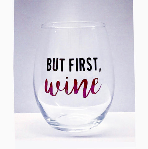 But first, Wine stemless wine glass/ cocktail glass/ Gift/ Birthday Gift/ personalized glass/ custom glass/ wedding/ events/ wine club/ book