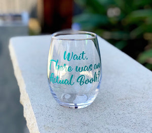 Book club glass, book club wine glass, reading glasses, ladies book club, wine book club, library wine glass, reading club wine, wait there