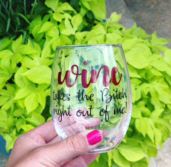 Funny wine glass, wine glass for friend, funny wine gift, funny gift for friend, wine gift for friend, cute gift for friend, best friend gif