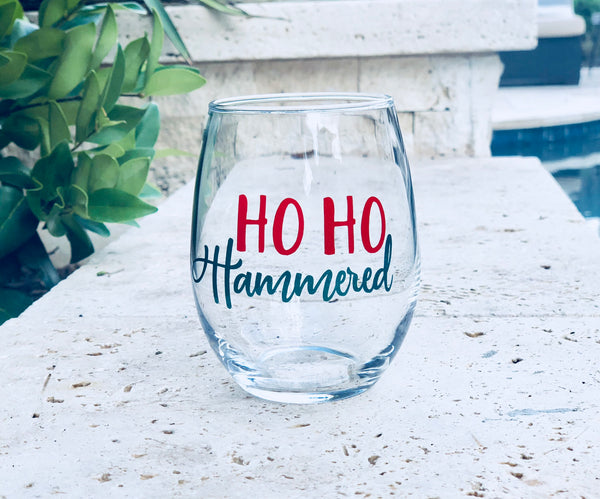 Secret santa gift, secret santa gift exchange, white elphant gift, secret santa glass, funny Christmas gift, funny christmas glass, gag gift