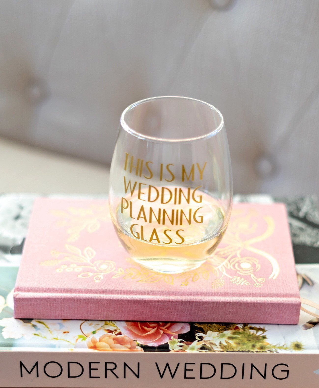 This is my wedding planning glass, engagement gift for bride, wedding planning gift, engagement wine glass, wedding planner gift, fiancé