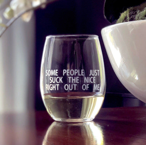 Funny gift idea for mom, mothers day gift idea, gift for mom, funny wine glass, funny quote, mothers day idea, from kids, from daughter