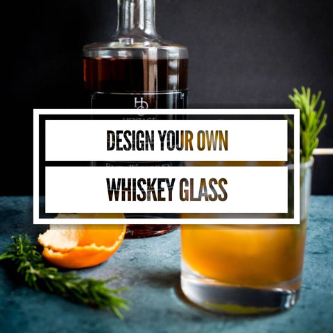 Design your own Whiskey Glass, personalized Whiskey Glass, custom bourbon glass, design your own Liquor glass, Bourbon, Gin, Tequila, vodka