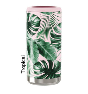 Tropical 12oz skinny Can Cooler
