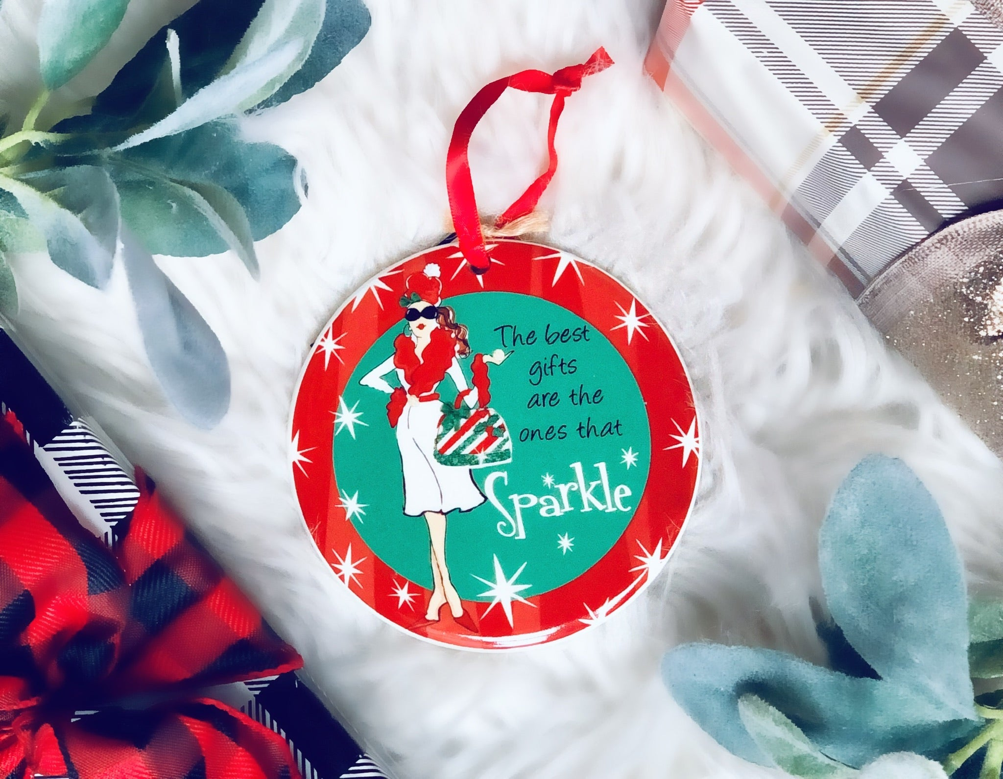 The best gifts Sparkle Ornament