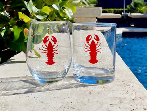 You're my lobster Glass