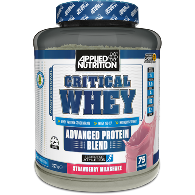 Applied Nutrition Critical Whey 2.2Kg 75 Servings