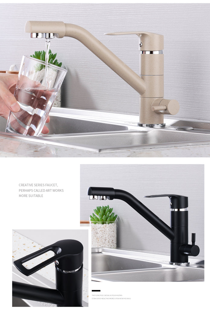 Hot And Cold Sink Faucet Kitchen Mixer Touch Control Sink Tap