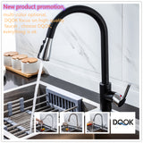 Single Handle Pull Down White Kitchen Tap Faucet Water Mixer Tap