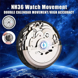 Automatic Watch Movement Mens Parts Mechanical Watch Movement NH36 Movement Watch Replace Accessories - Fbest