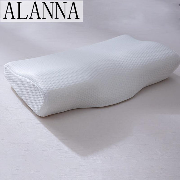 Alanna02 Memory Foam Bedding Pillow Neck Protection Slow Rebound Shaped Maternity Pillow For Sleeping Orthopedic Pillows 50*30CM - Fbest