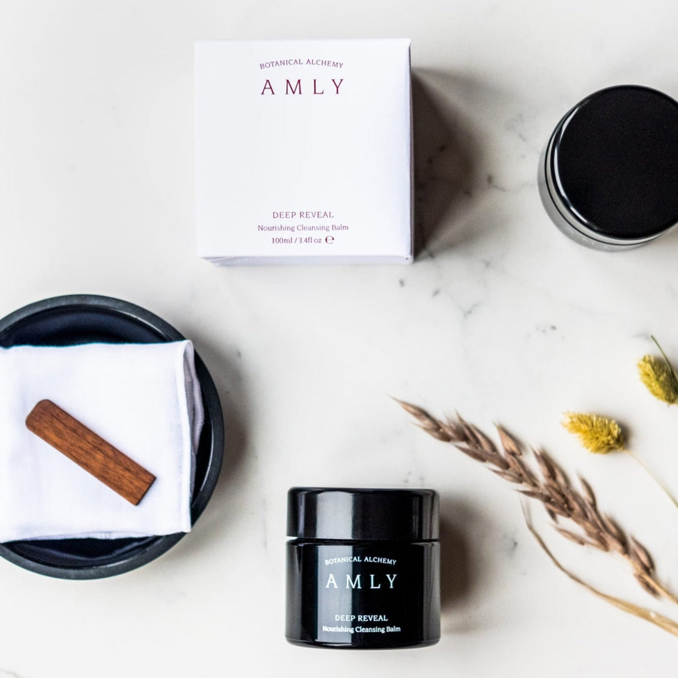 Amly Deep Reveal Nourishing Cleansing Balm & Mask