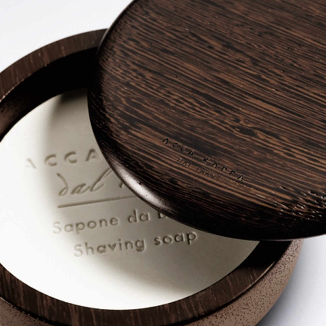 Acca Kappa Wenge Wood Bowl + 1869 Shave Soap