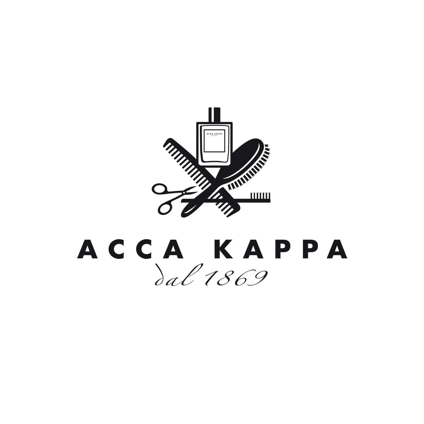 Acca Kappa Black Lacquered Shave Brush