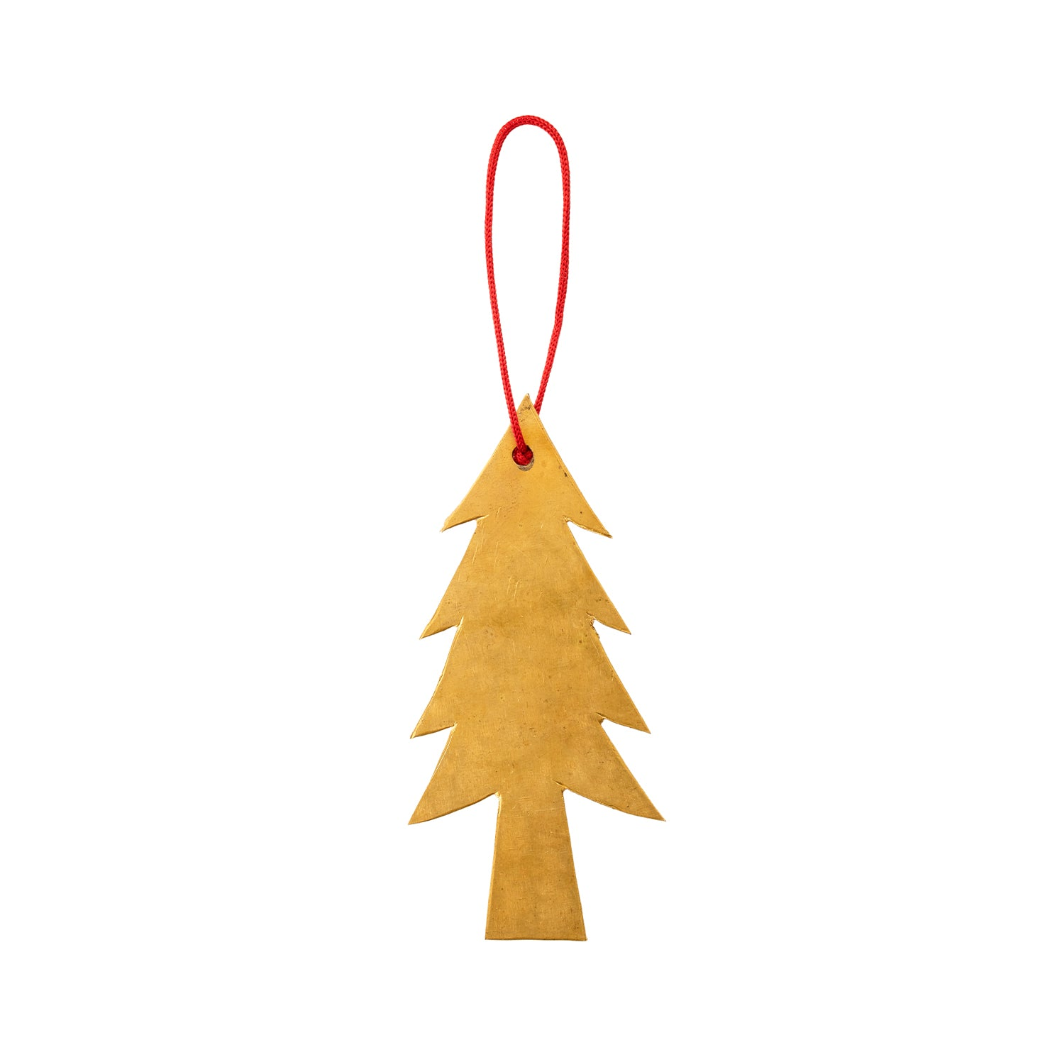 Fog Linen Work Brass Tree Ornament