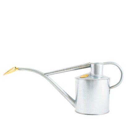 Haws Rowley Ripple Watering Can - Galvanised 1L