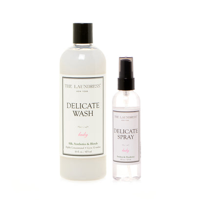 The Laundress Delicate Wash + Spray Duo - Value $61
