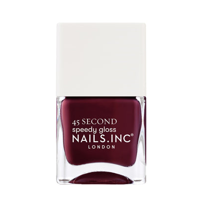 Nails.INC 45 Sec Speedy Gloss - Meet Me On Regents Street