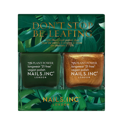 Nails.INC Dont Stop Be Leafing Plant Power Duo