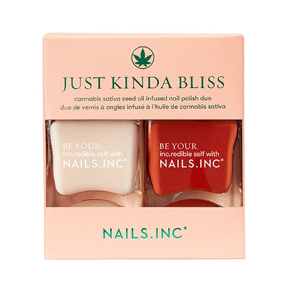 Nails.INC Just Kinda Bliss Sativa Oil Infused Duo