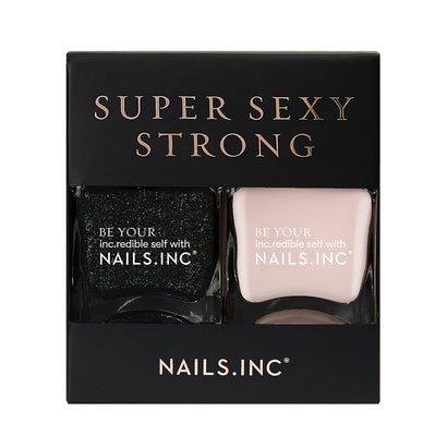 Nails.INC Super Sexy Strong Dark and Devious Duo