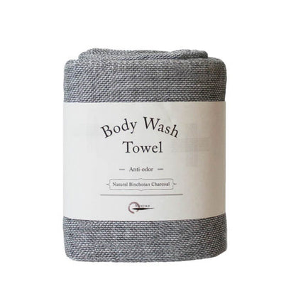 Nawrap Binchotan Charcoal Body Wash Towel