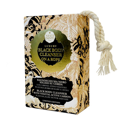 Nesti Dante Luxury Black Soap On A Rope