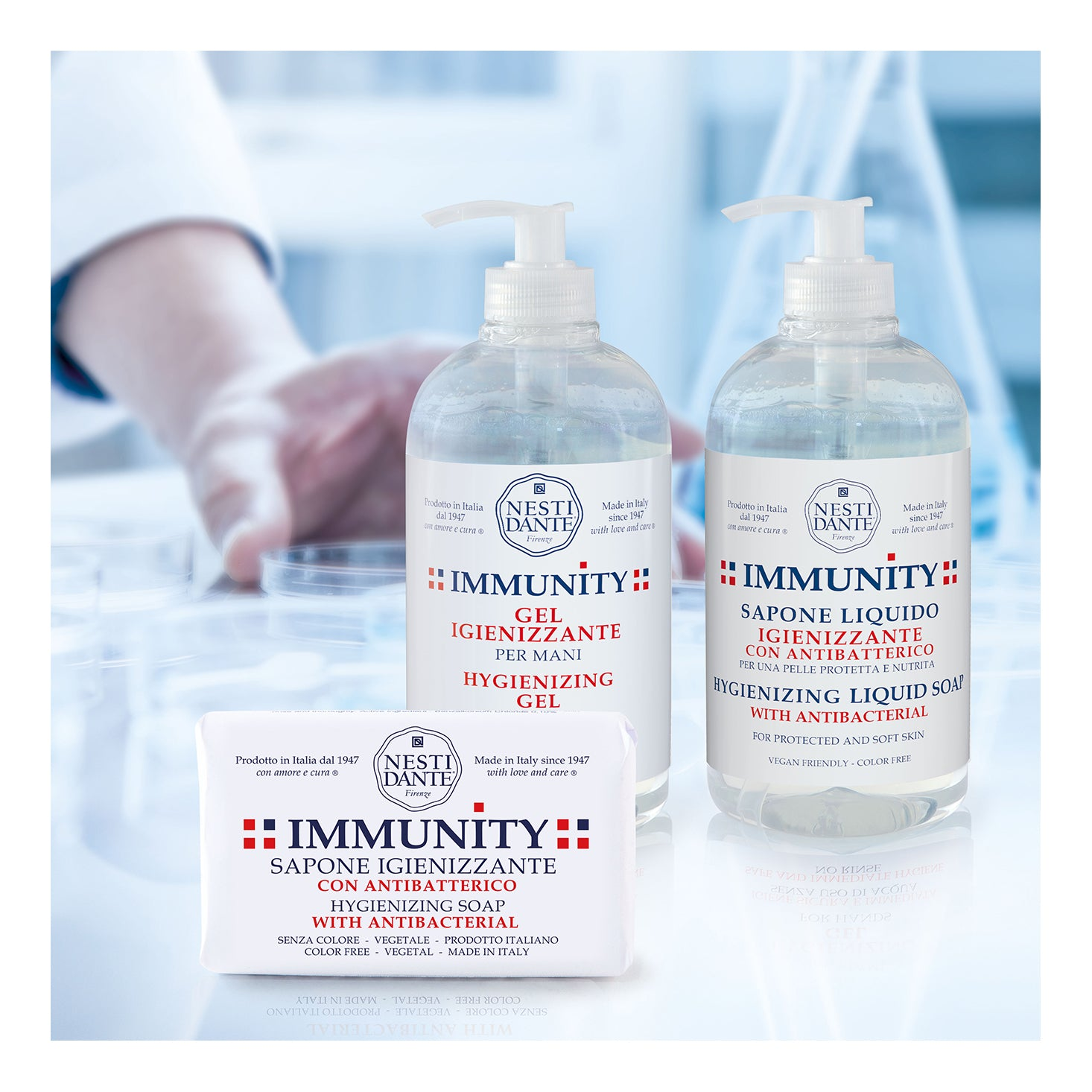 Nesti Dante Immunity Hygienizing Gel for Hands