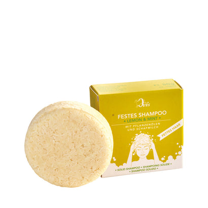 Ovis Solid Shampoo - Lemon + Mint 50g