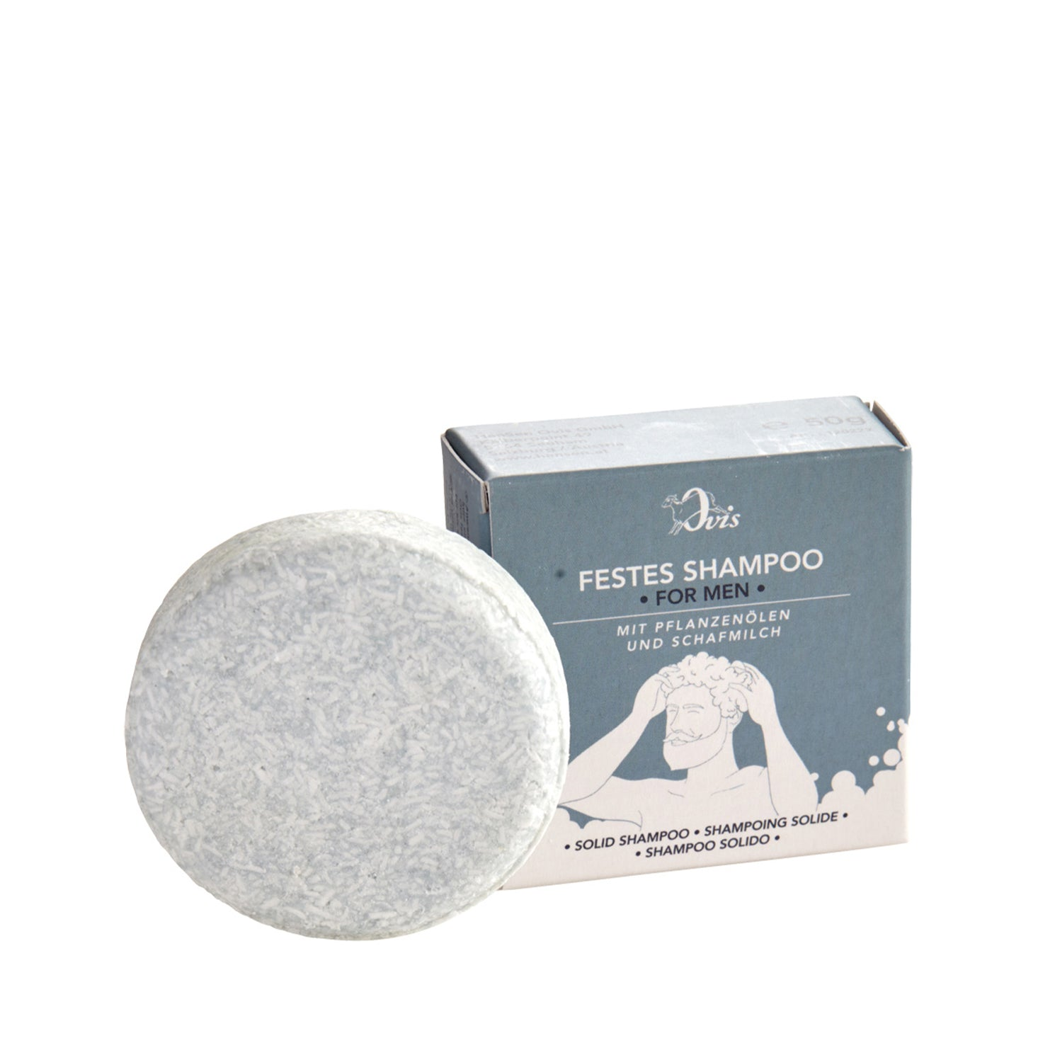 Ovis Solid Shampoo - For Men 50g