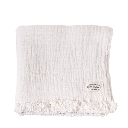 Ten i muhoh Muslin Bath Towel - Natural