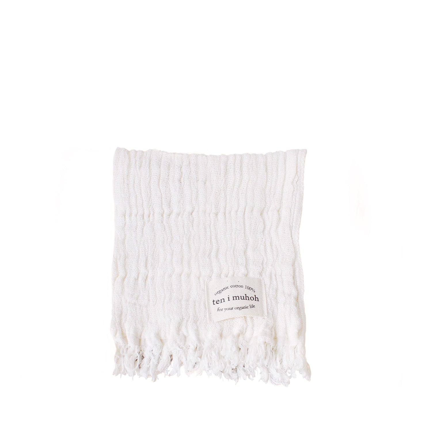 Ten i muhoh Muslin Face Cloth - Natural