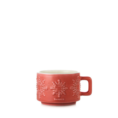 Thymes Dark Chocolate Mug Candle