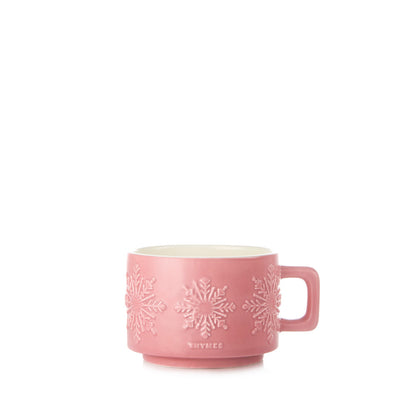 Thymes Raspberry Mug Candle