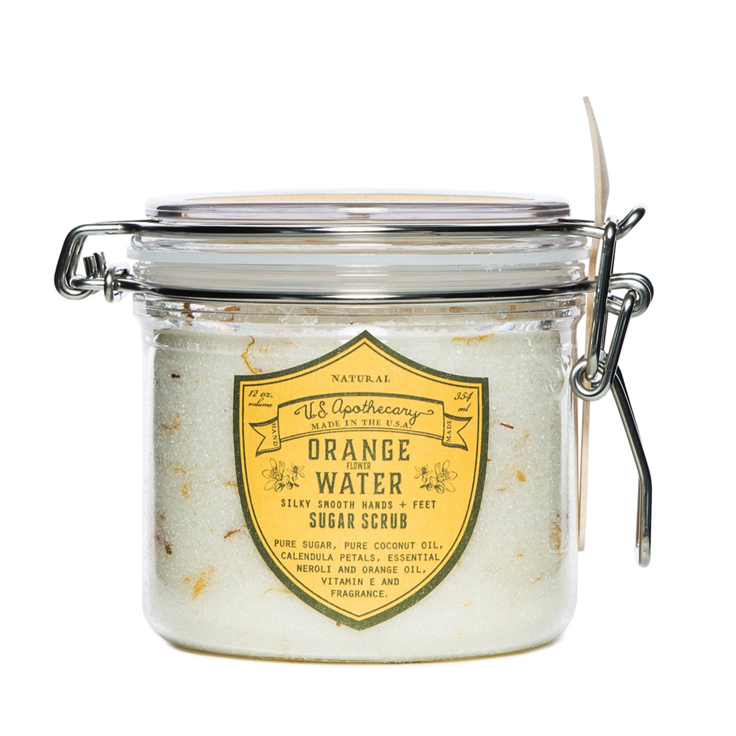 U.S. Apothecary Orange Water Sugar Scrub