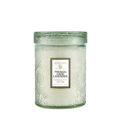 VOLUSPA French Cade & Lavender 50hr Candle Jar