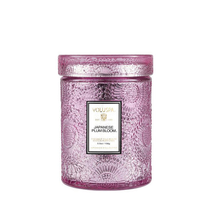 VOLUSPA Japanese Plum Bloom 50hr Candle Jar