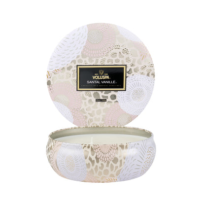 VOLUSPA Santal Vanille 3 Wick Candle