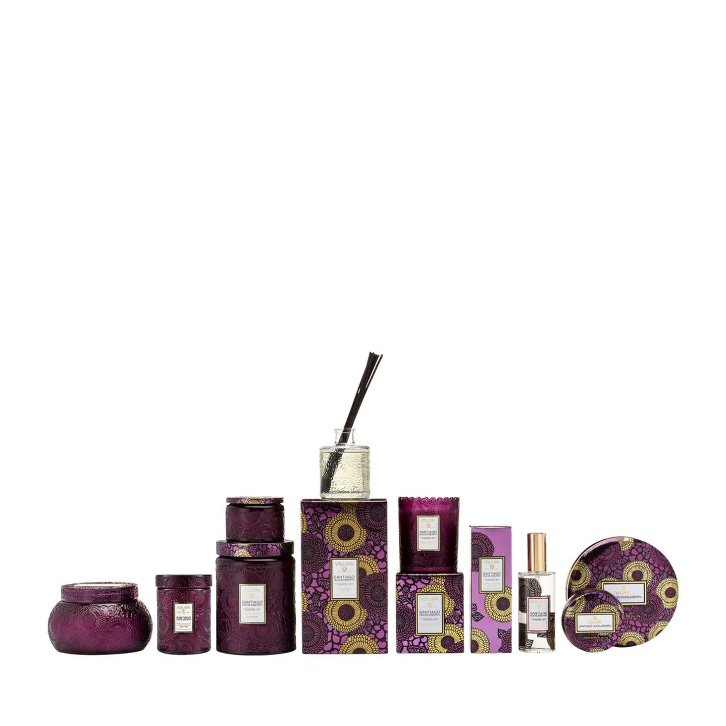 VOLUSPA Santiago Huckleberry Petite Candle