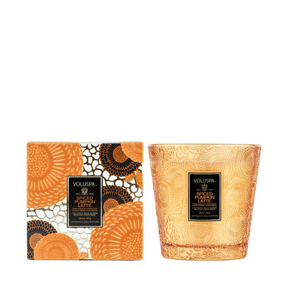 VOLUSPA Spiced Pumpkin Latte 2 Wick Hearth