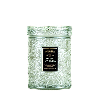 VOLUSPA White Cypress 50hr Jar Candle
