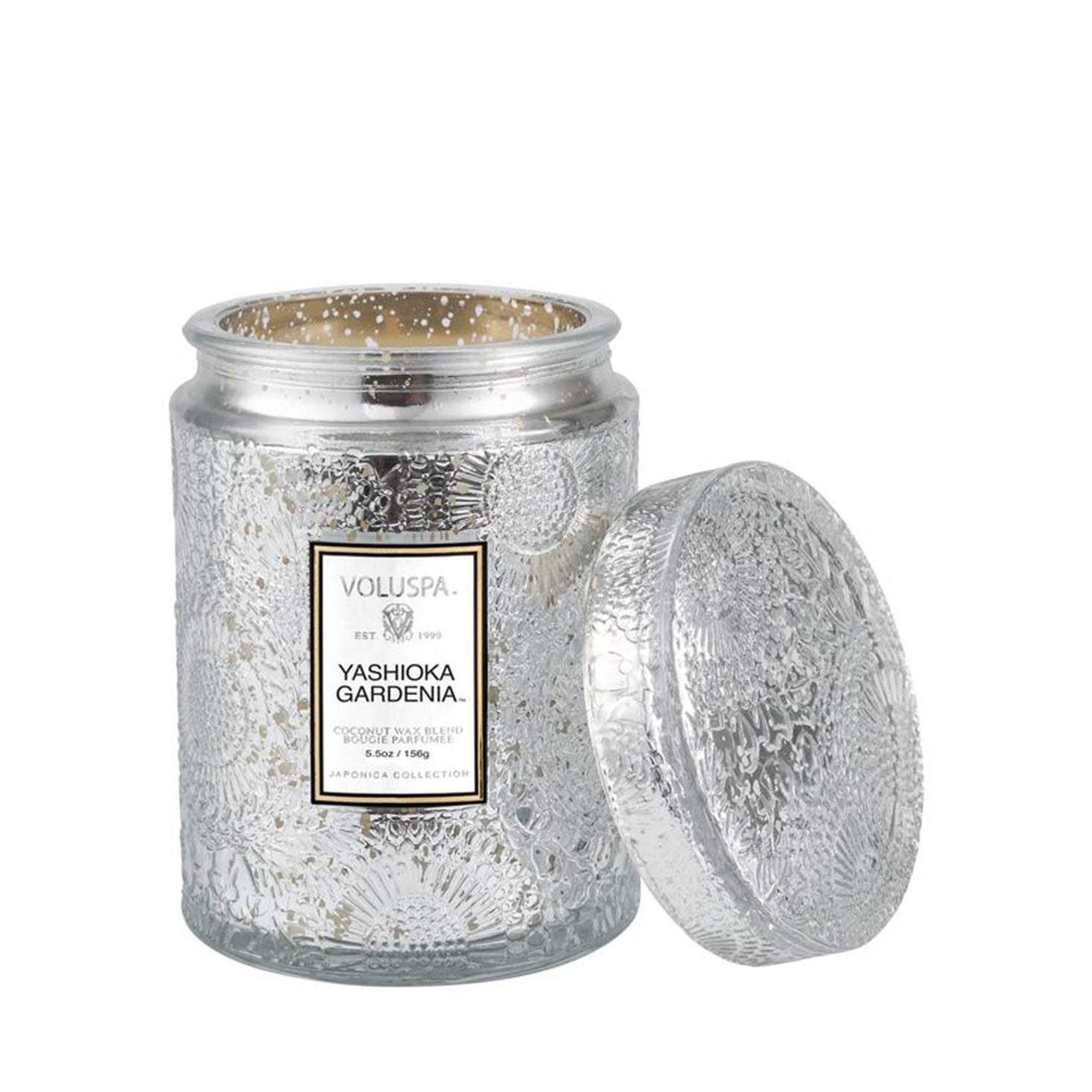 VOLUSPA Yashioka Gardenia 50hr Candle Jar