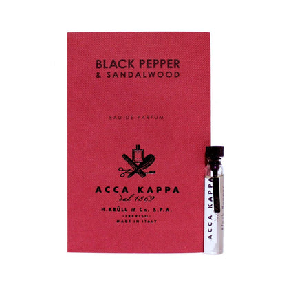 Acca Kappa Black Pepper & Sandalwood Eau de Parfum 2ml