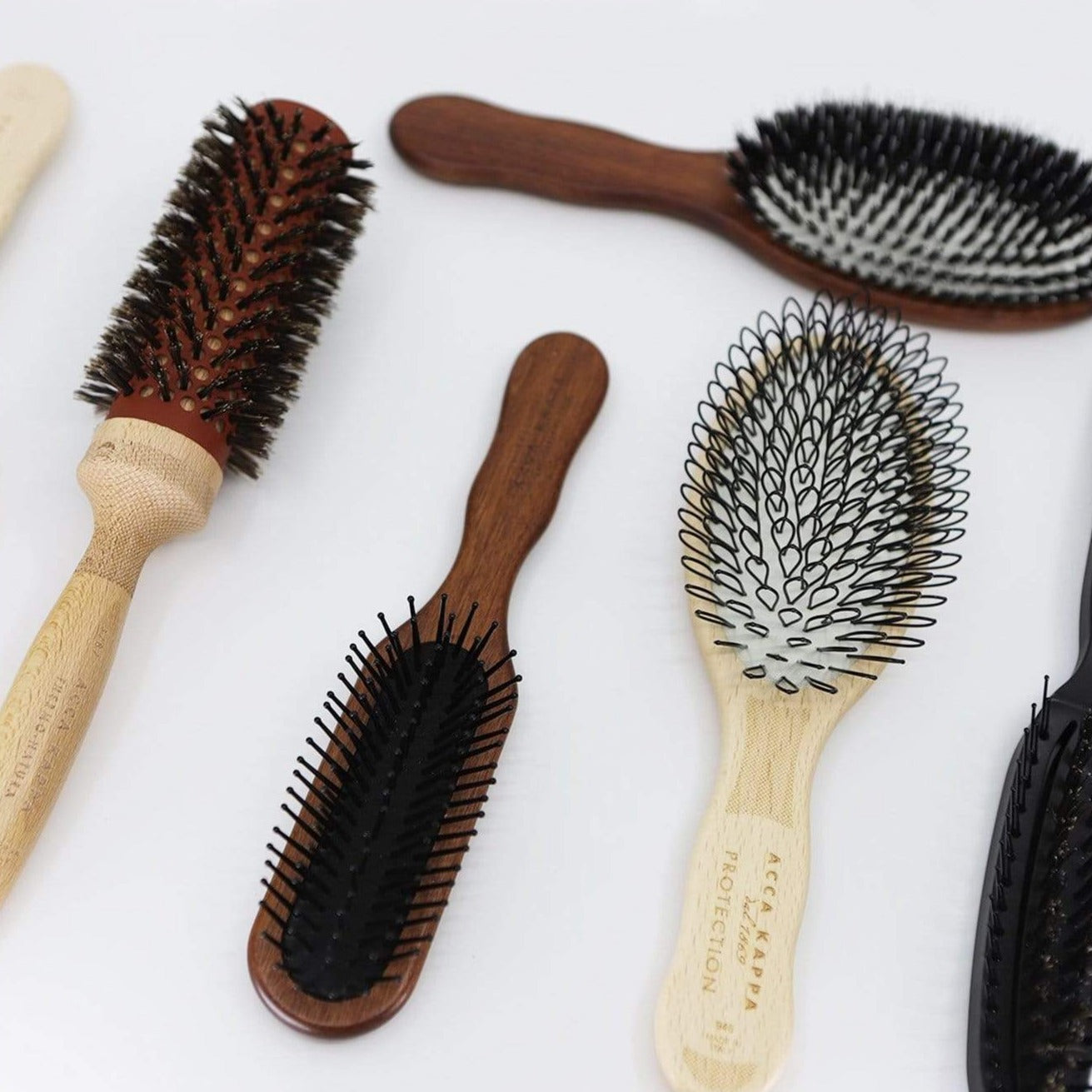Acca Kappa Natura Oval Protection Hair Brush