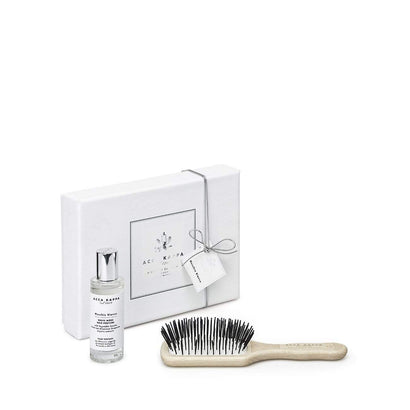 Acca Kappa White Moss Hair Perfume + Hairbrush Gift Set