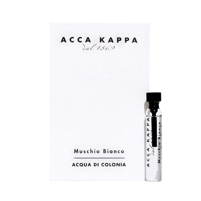 Acca Kappa White Moss (Muschio Bianco) Eau de Cologne 2ml