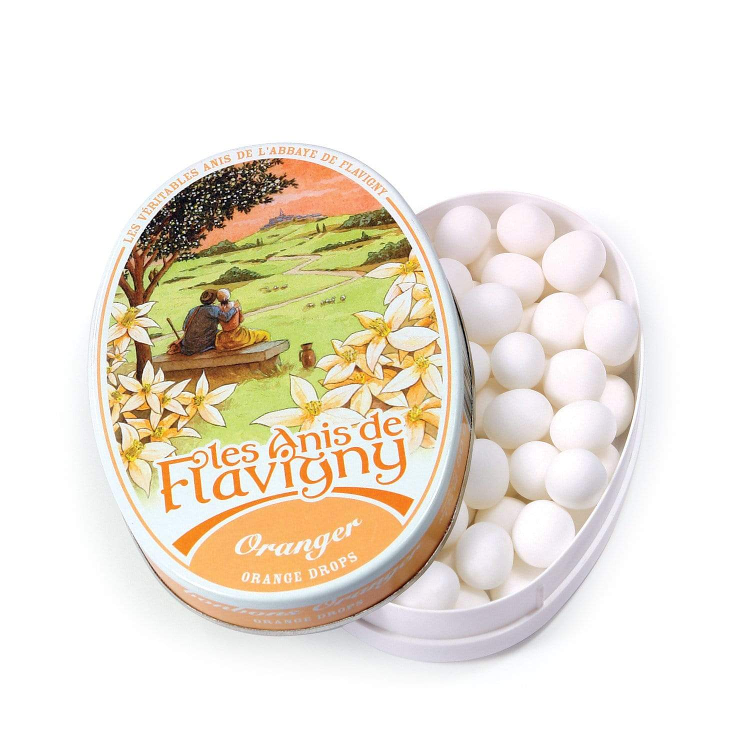 Anis de Flavigny Orange Pastilles
